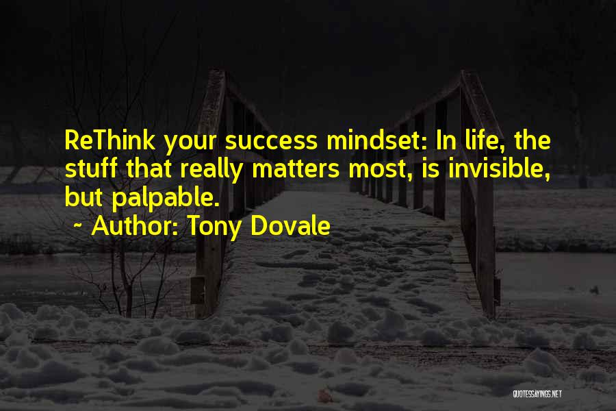 Attitude Is All That Matters Quotes By Tony Dovale