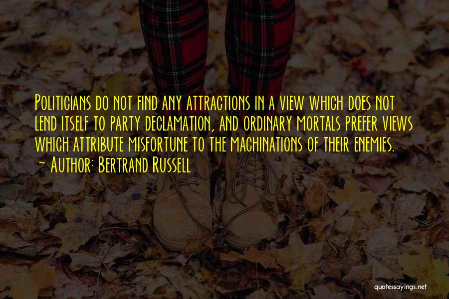 Attractions Quotes By Bertrand Russell