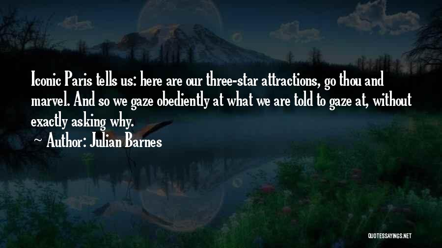 Attractions Quotes By Julian Barnes