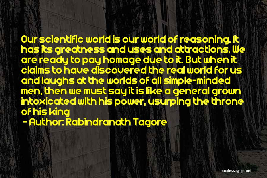 Attractions Quotes By Rabindranath Tagore