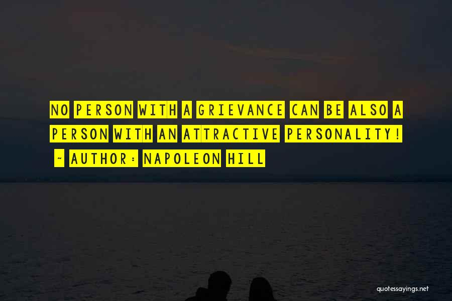 Attractive Personality Quotes By Napoleon Hill