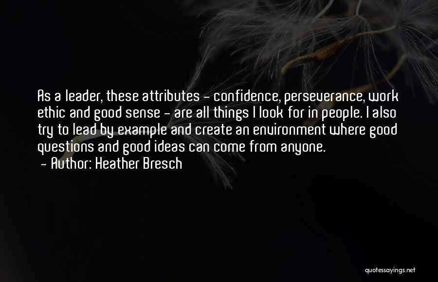 Attributes Quotes By Heather Bresch