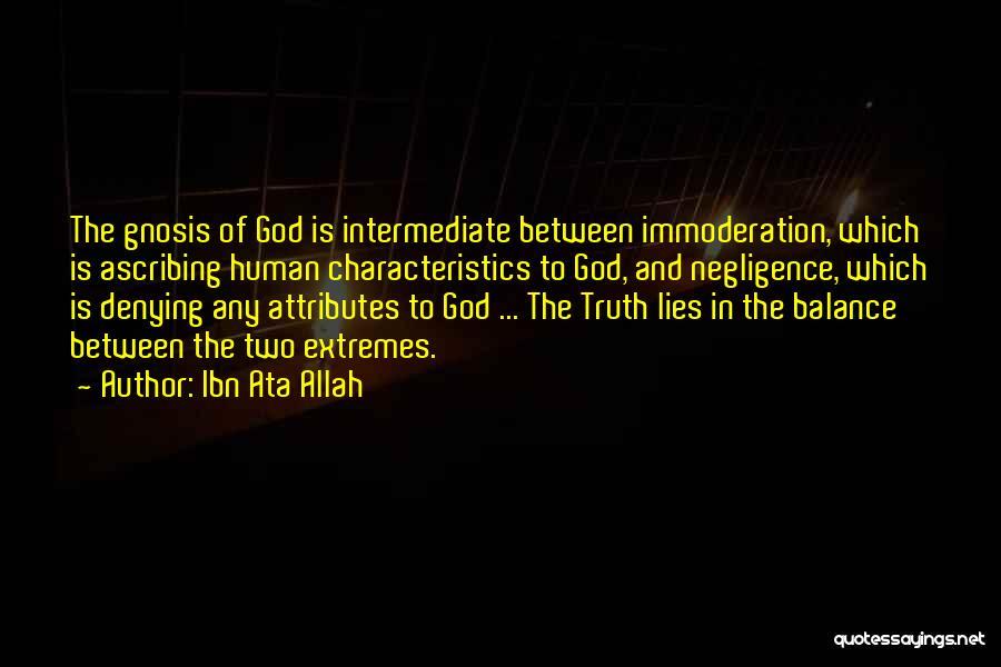 Attributes Quotes By Ibn Ata Allah