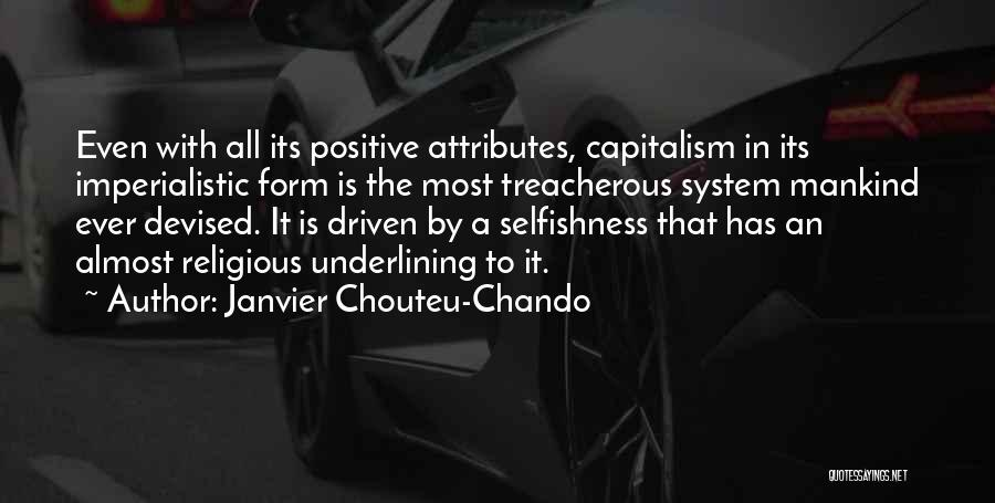 Attributes Quotes By Janvier Chouteu-Chando