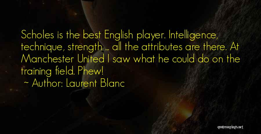 Attributes Quotes By Laurent Blanc