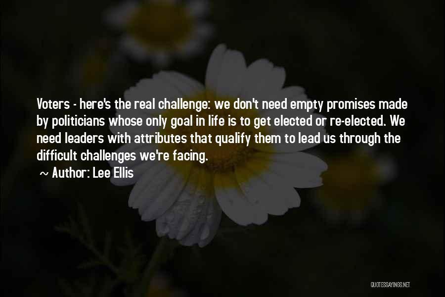 Attributes Quotes By Lee Ellis