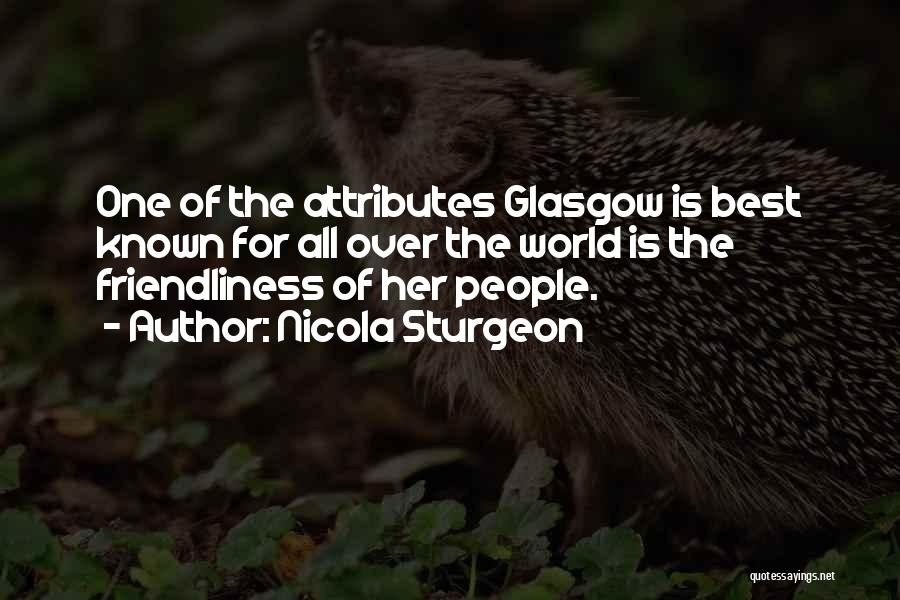 Attributes Quotes By Nicola Sturgeon