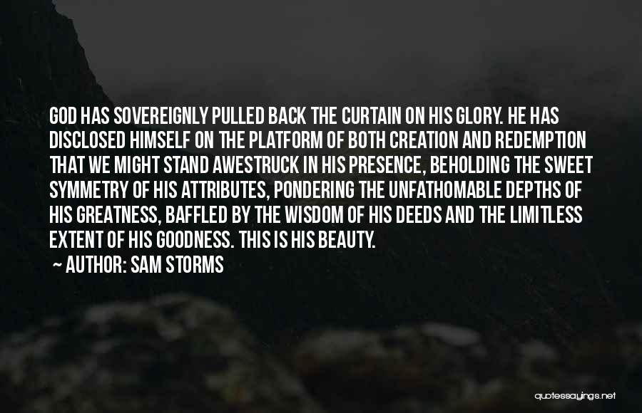 Attributes Quotes By Sam Storms