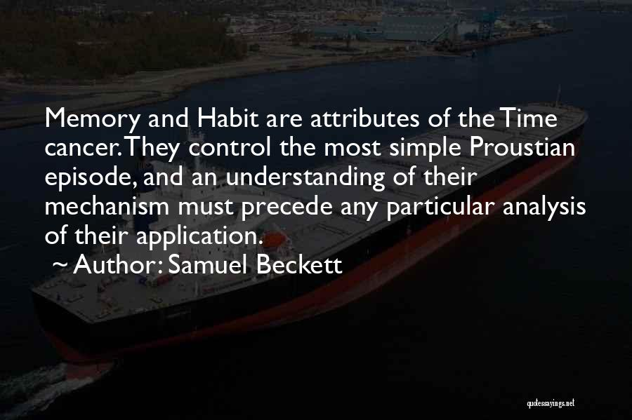 Attributes Quotes By Samuel Beckett