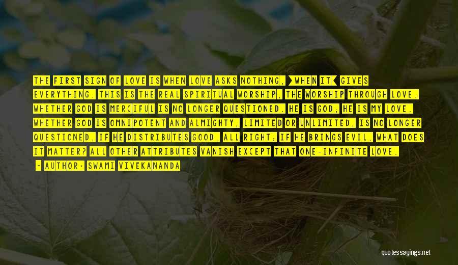 Attributes Quotes By Swami Vivekananda