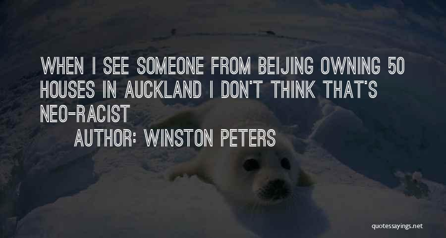 Auckland Quotes By Winston Peters