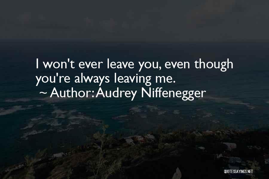Audrey Niffenegger Quotes 1062410