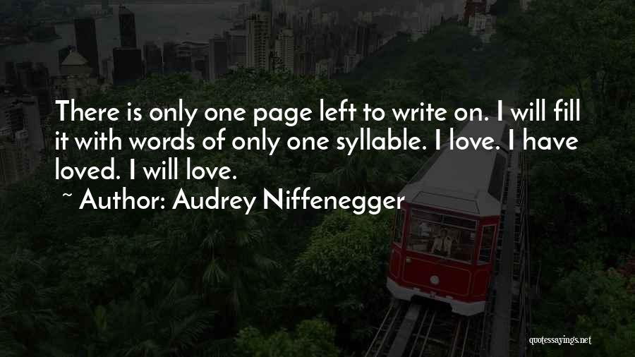 Audrey Niffenegger Quotes 430274