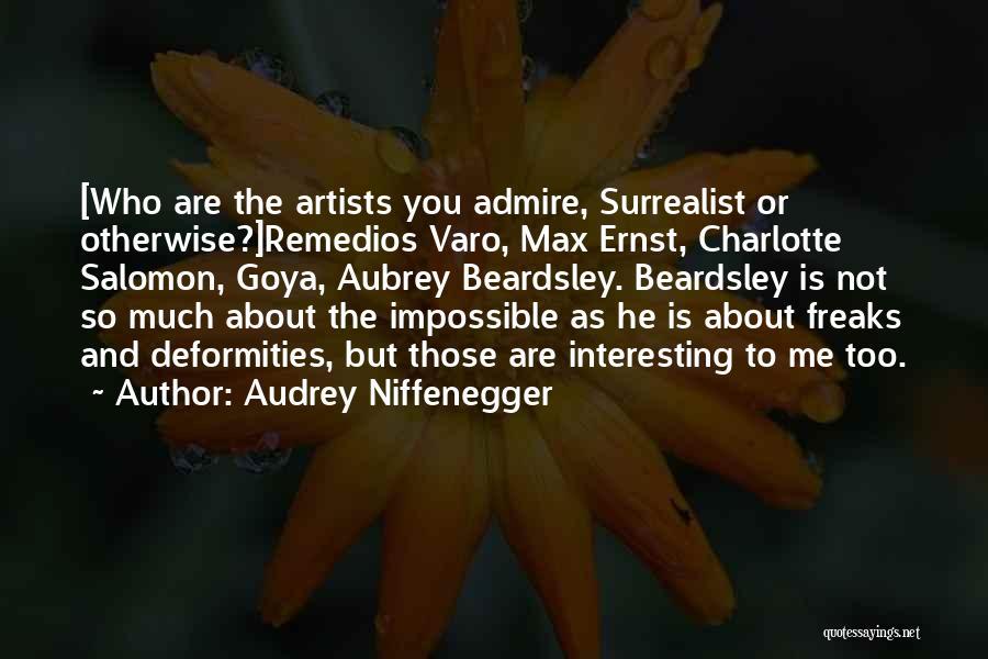 Audrey Niffenegger Quotes 663874