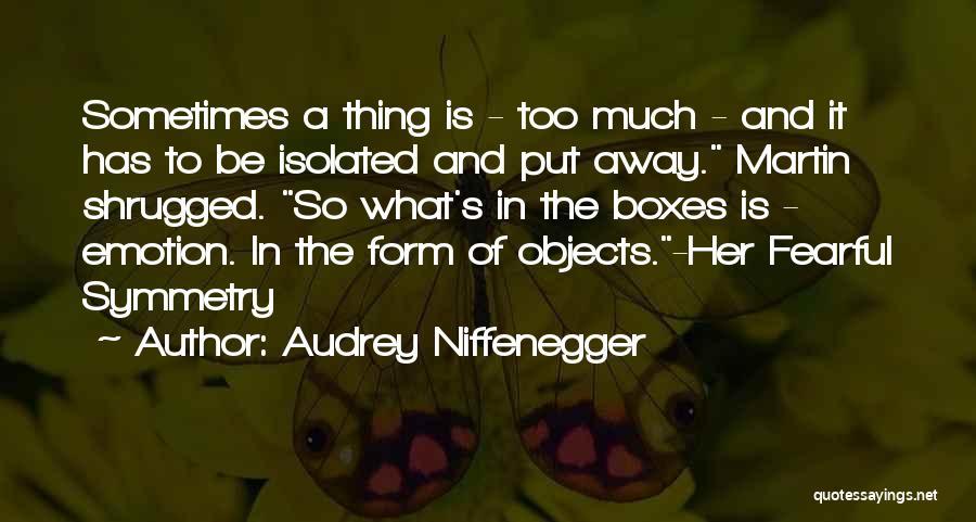 Audrey Niffenegger Quotes 793774