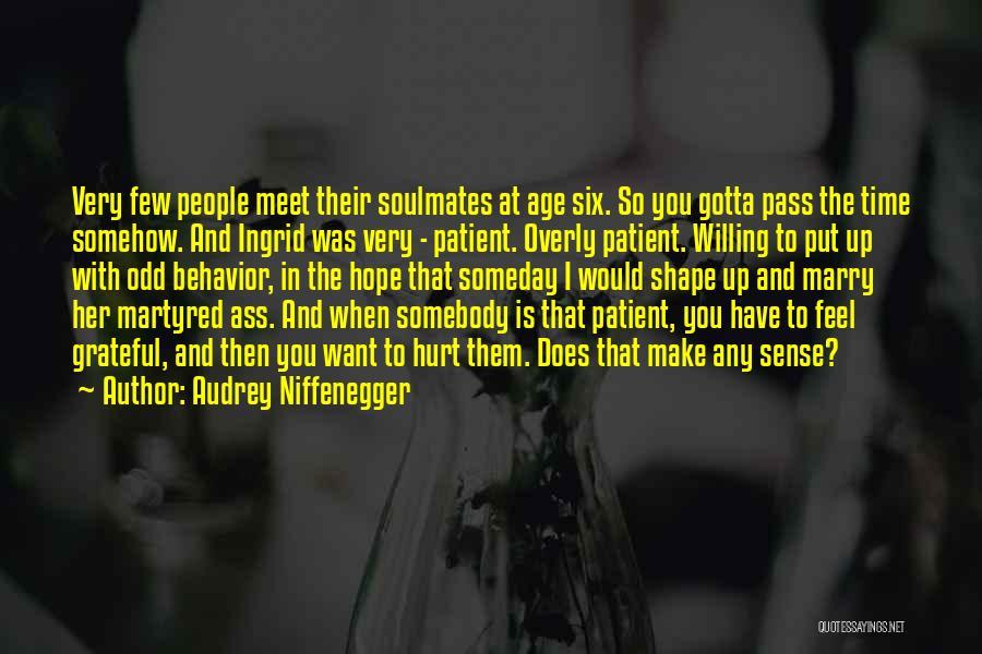 Audrey Niffenegger Quotes 877235