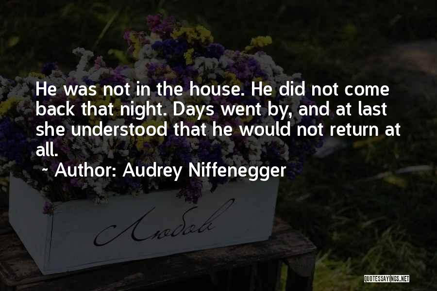 Audrey Niffenegger Quotes 987868