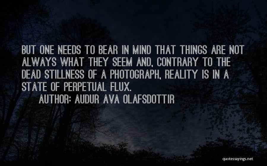 Audur Ava Olafsdottir Quotes 524175