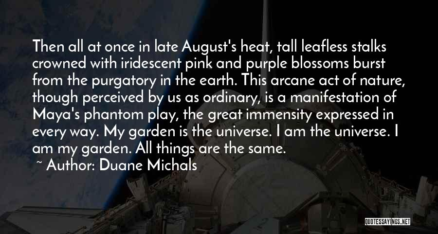 August Heat Quotes By Duane Michals