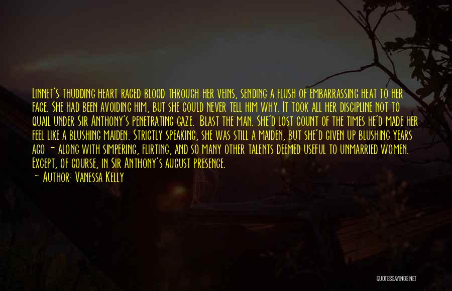 August Heat Quotes By Vanessa Kelly