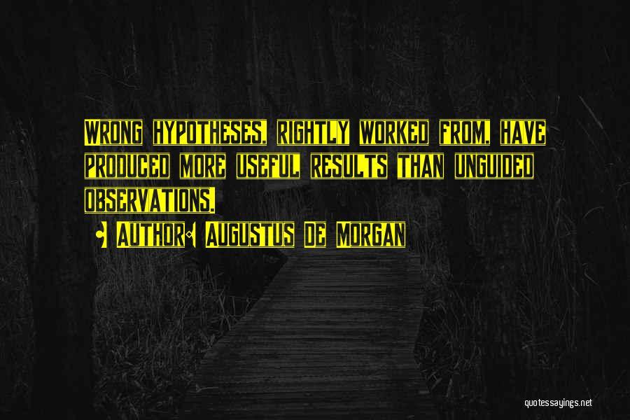 Augustus De Morgan Quotes 2202776