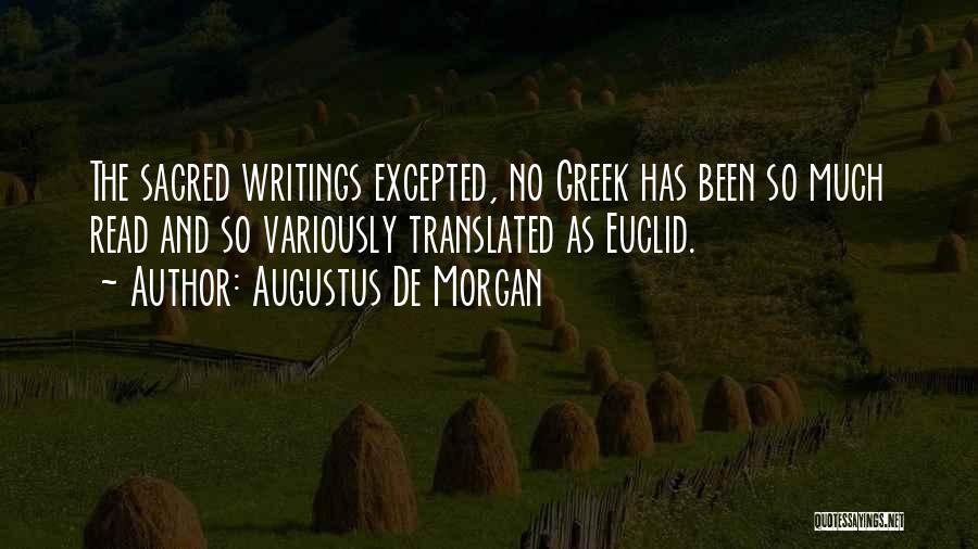 Augustus De Morgan Quotes 268969