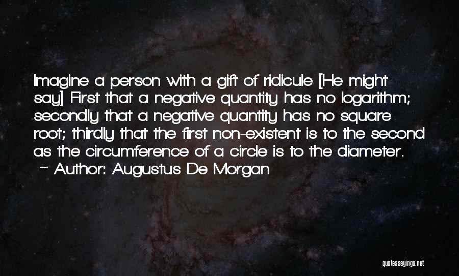 Augustus De Morgan Quotes 432451