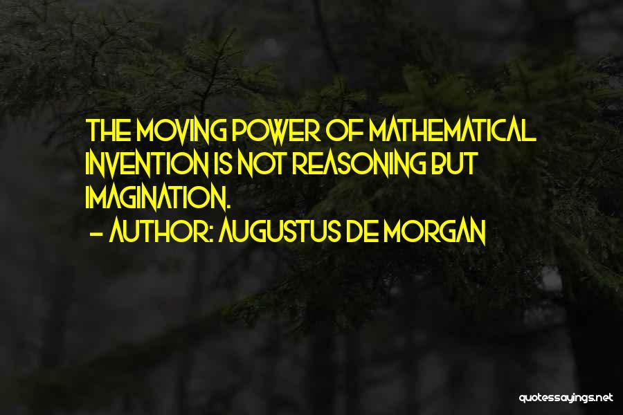 Augustus De Morgan Quotes 732166