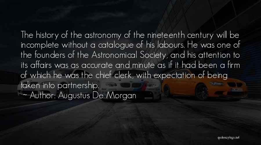 Augustus De Morgan Quotes 936963