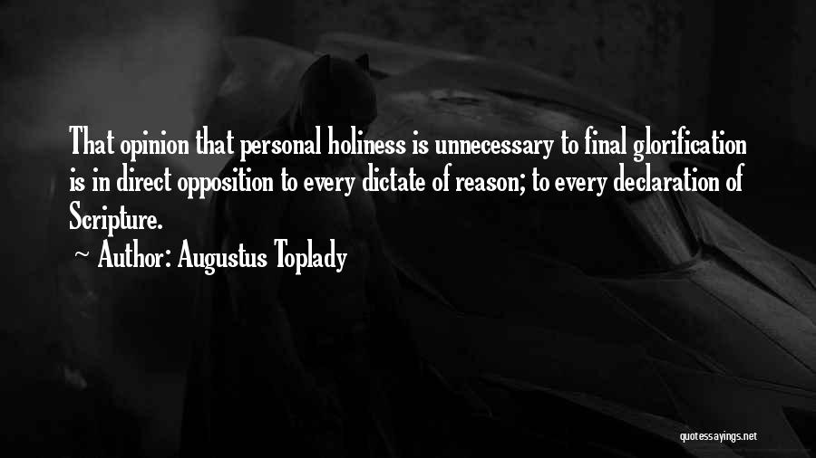 Augustus Toplady Quotes 300615