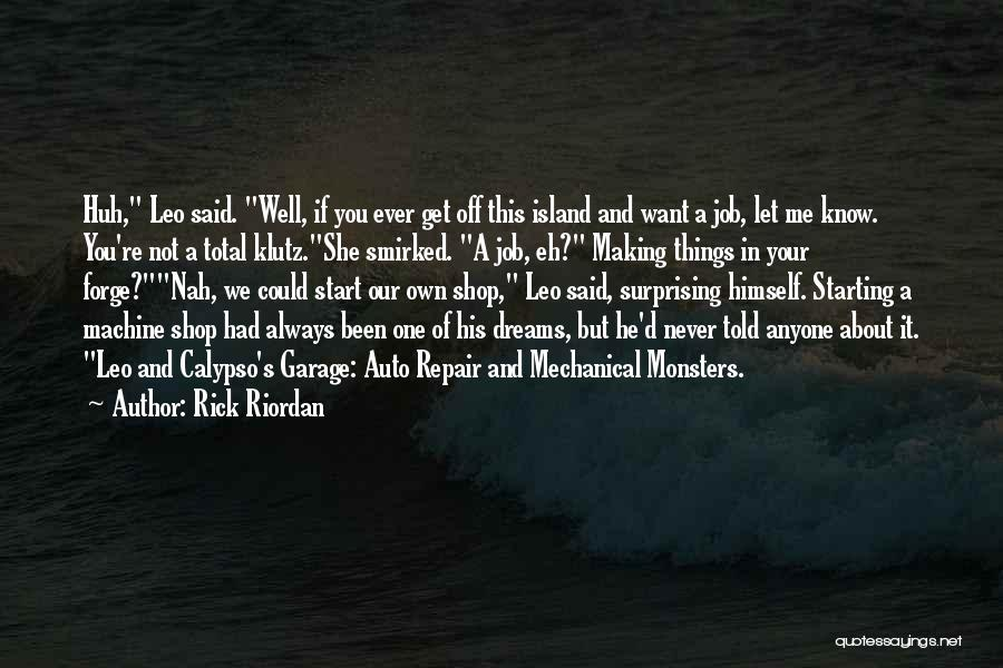 Auto Repair Quotes By Rick Riordan
