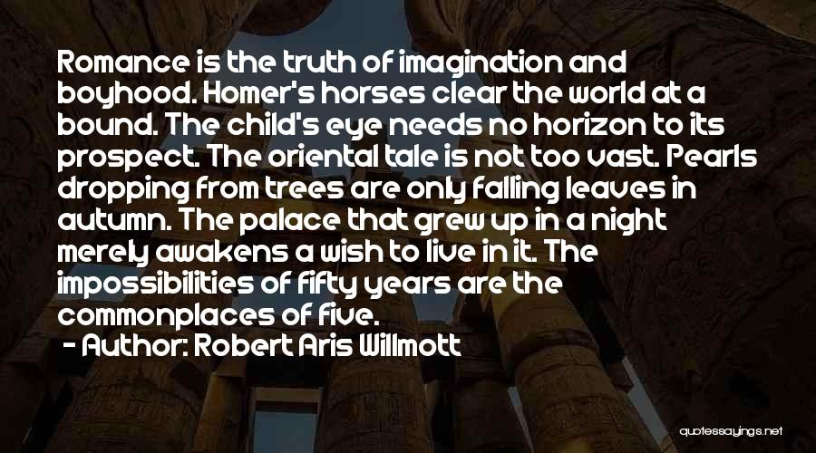 Autumn Leaves Falling Quotes By Robert Aris Willmott