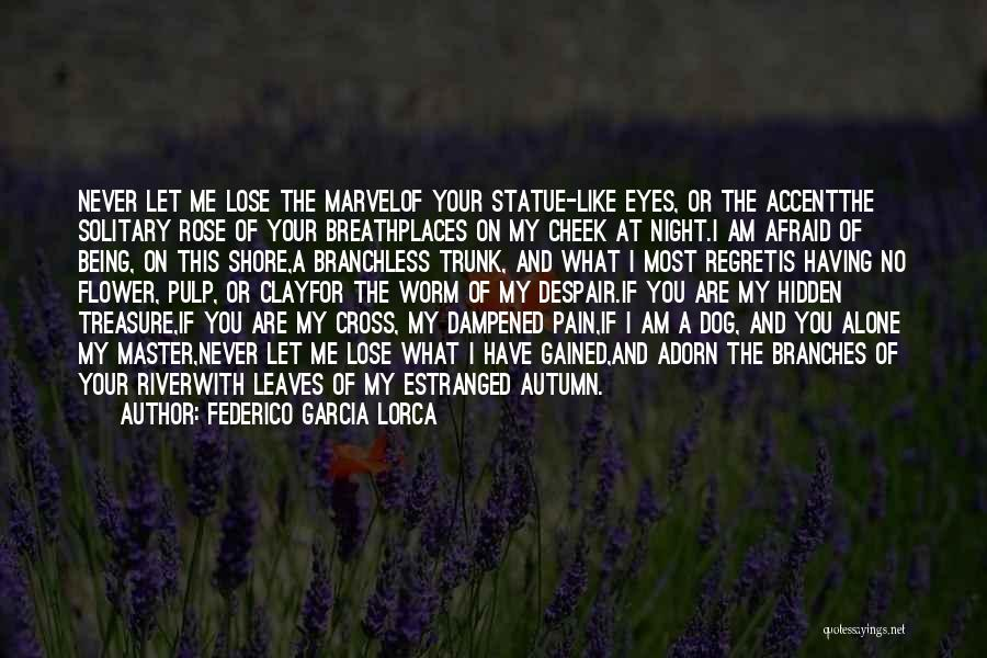 Autumn Leaves Quotes By Federico Garcia Lorca