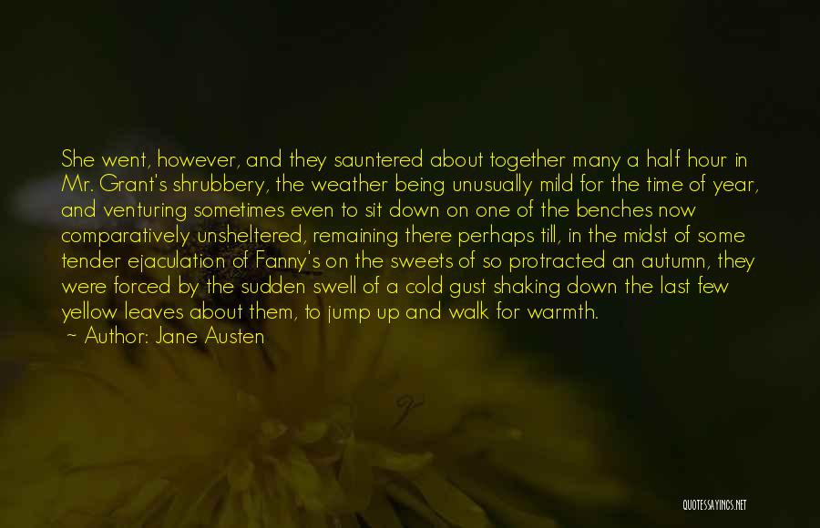 Autumn Leaves Quotes By Jane Austen