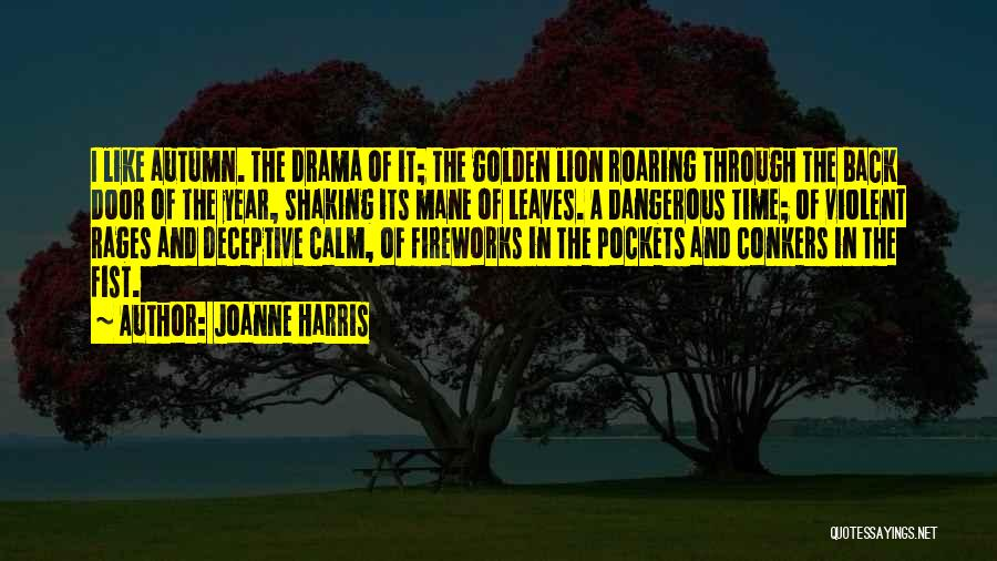 Autumn Leaves Quotes By Joanne Harris