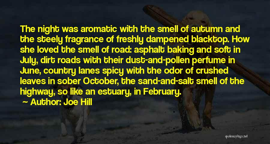Autumn Leaves Quotes By Joe Hill