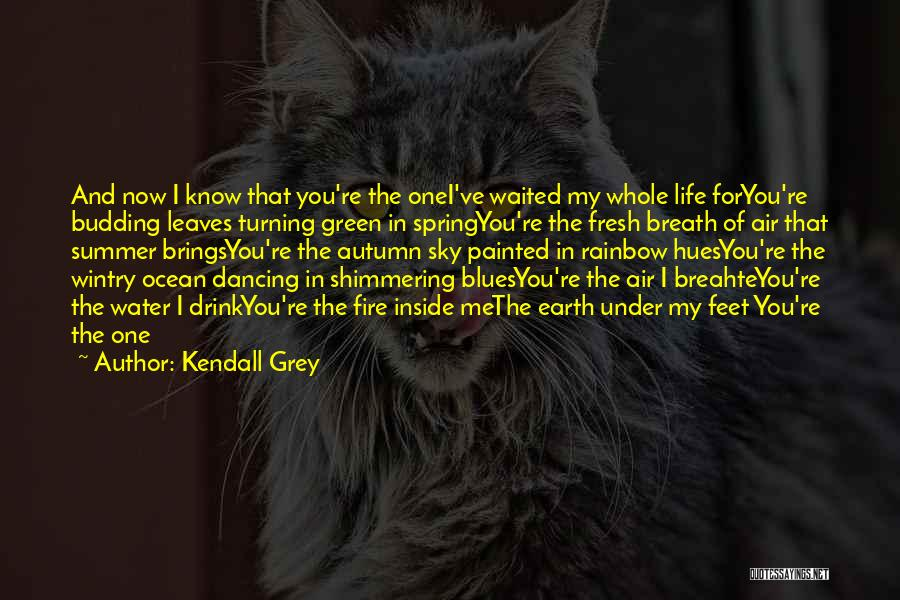 Autumn Leaves Quotes By Kendall Grey