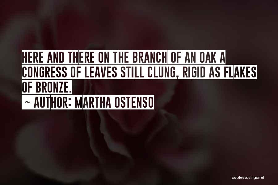 Autumn Leaves Quotes By Martha Ostenso