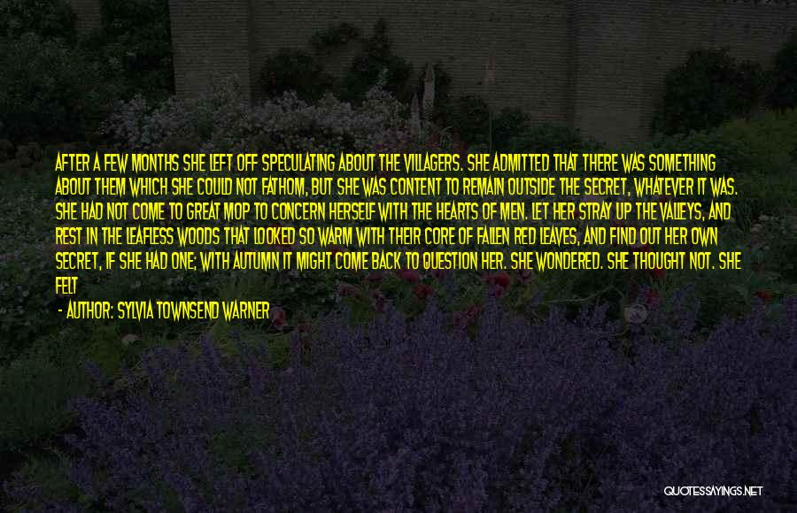 Autumn Leaves Quotes By Sylvia Townsend Warner