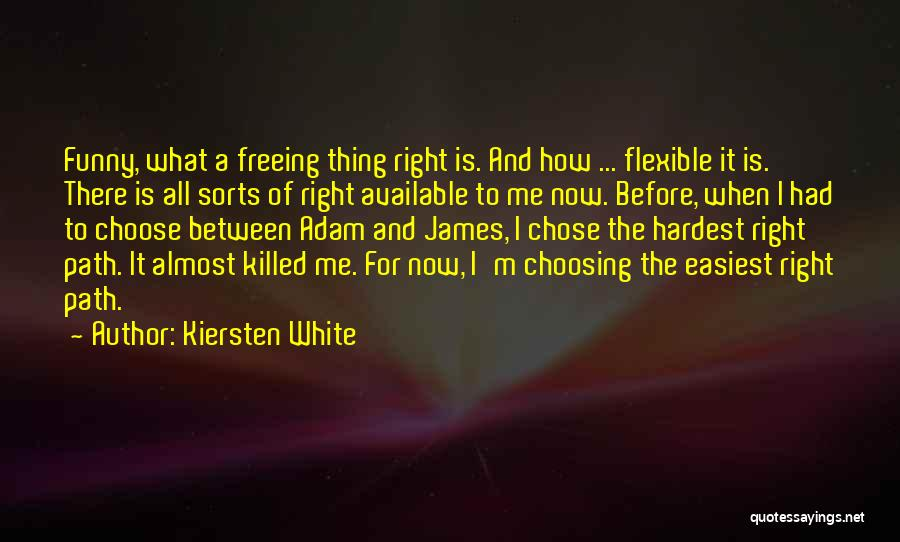 Available Funny Quotes By Kiersten White