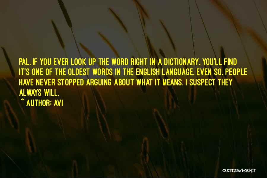 Avi Quotes 1190042