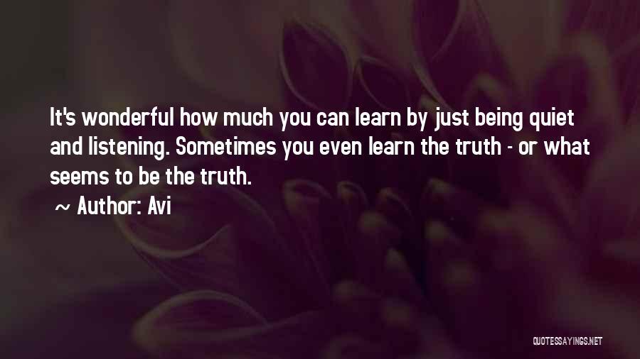 Avi Quotes 1371525