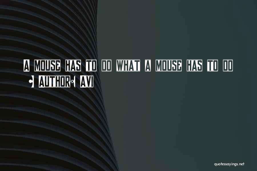 Avi Quotes 2247849