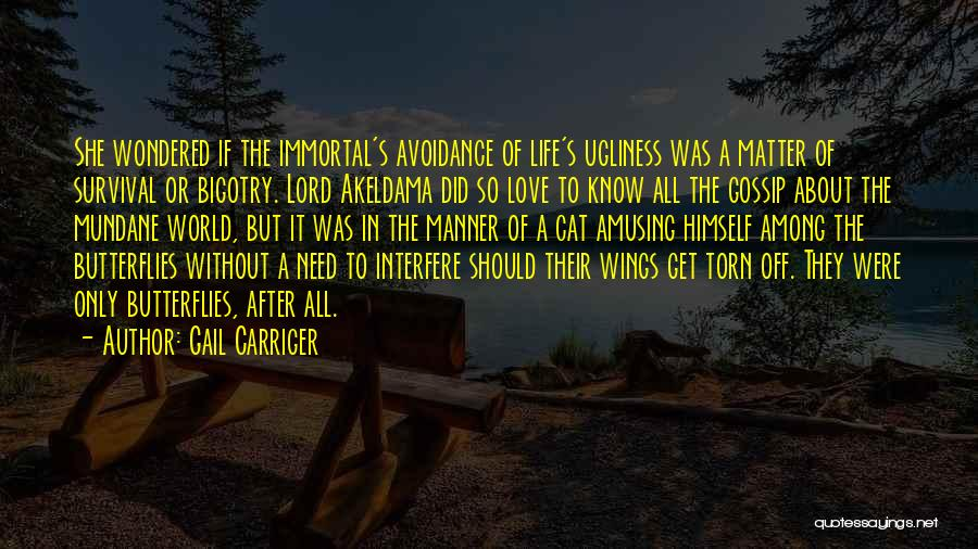 Avoidance In Love Quotes By Gail Carriger