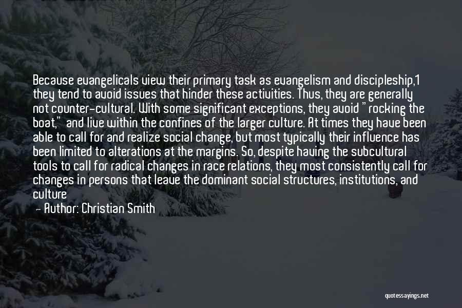 Avoidance Quotes By Christian Smith