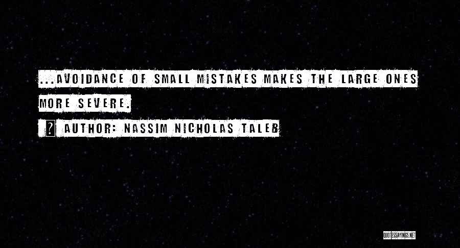 Avoidance Quotes By Nassim Nicholas Taleb
