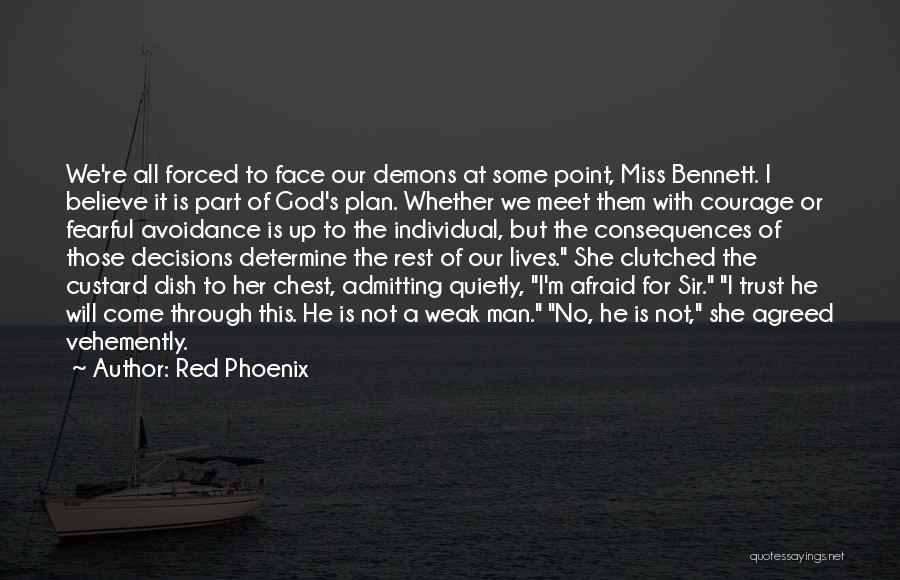 Avoidance Quotes By Red Phoenix