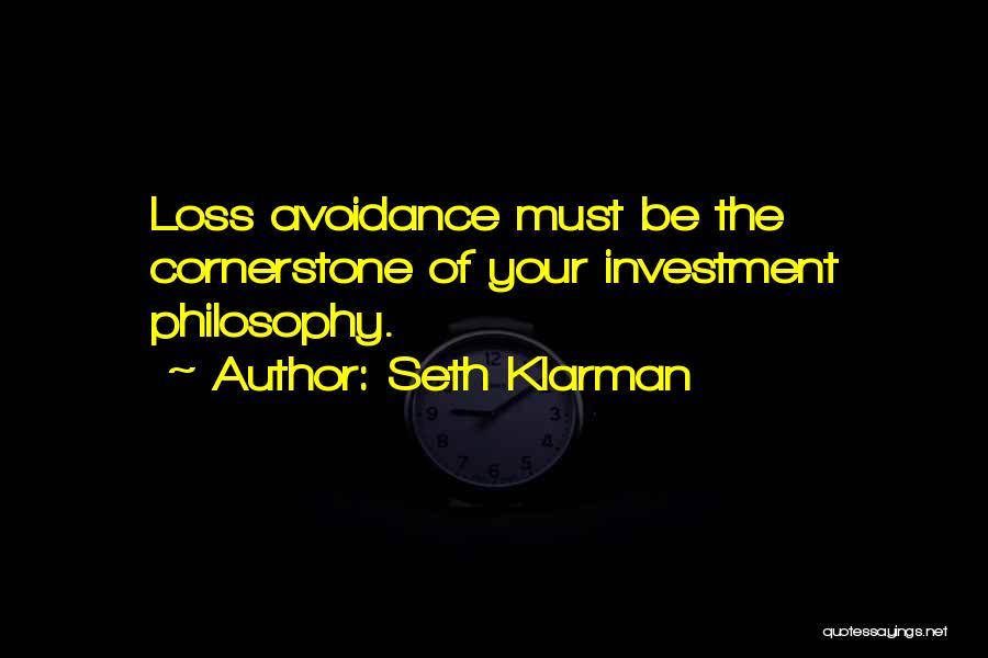 Avoidance Quotes By Seth Klarman