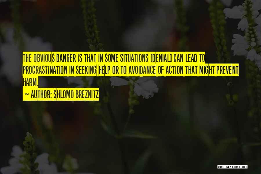 Avoidance Quotes By Shlomo Breznitz