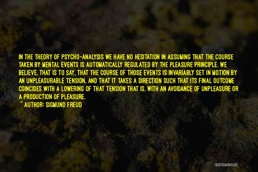 Avoidance Quotes By Sigmund Freud
